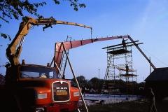 3. Horne Hallens stålbuer rejses (1)