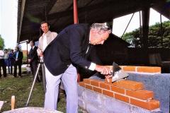 5. Horne Hallens rejsegilde og grundsten mures (7)