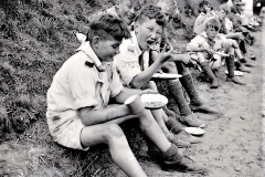 Landerupgård drengene på tur til Hornelund i 1930verne (4)