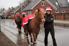 Juleoptog i Horne med Varde-Garden.  (1)
