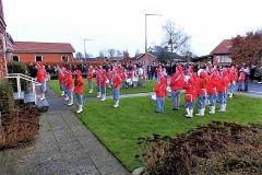 Juleoptog i Horne med Varde-Garden.  (6)