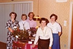 1 Horne Husholdningsforenings Bestyrelse i 1978 ved 40 års Jubilæet1