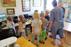 Fra Horne Skoles besøg på Arkivet 25. maj 2018 (4)