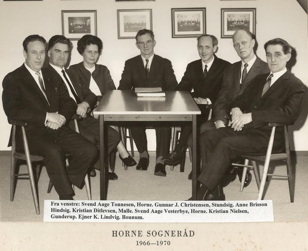 Horne Sogneråd 1966 - 1970