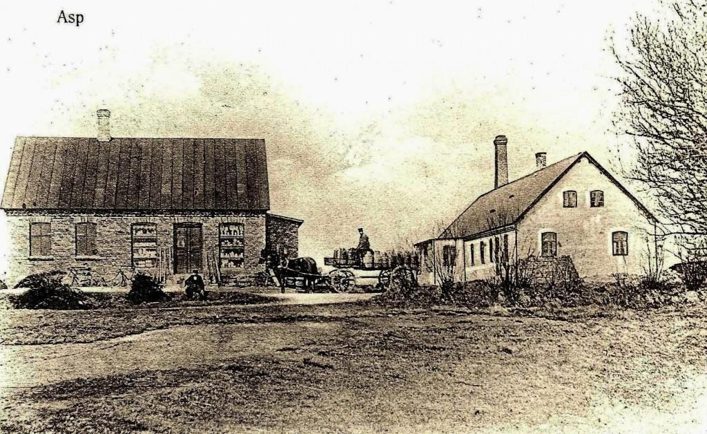 Aspgårdvej 1 Aspgaard Mejeri ca. 1900