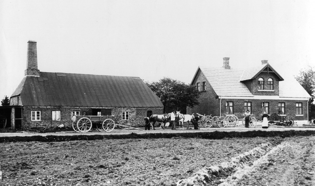 Ølgodvej 148 Gl. Foto. ca. 1910