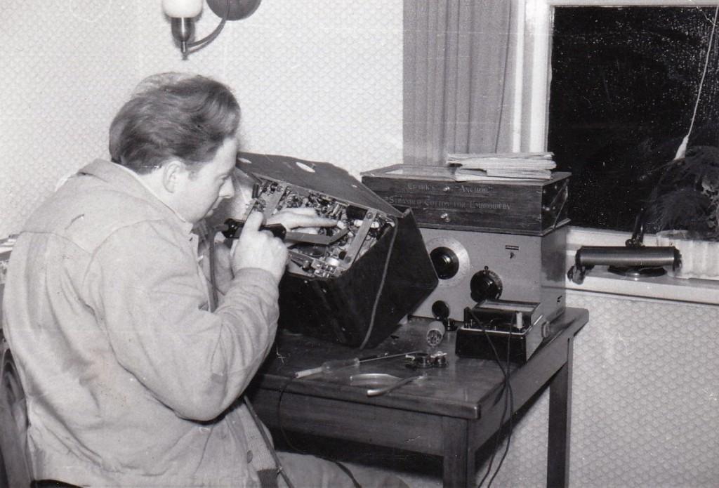 1954 - Reparation af radio