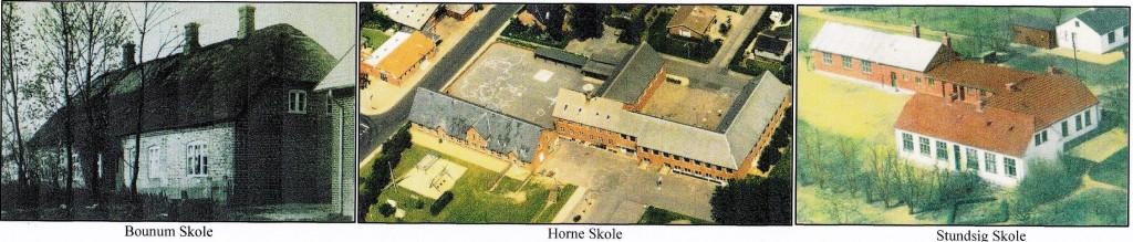 Skoler i Horne Sogn